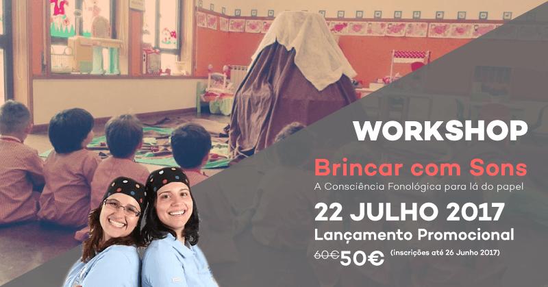 Workshop Brincar com Sons
