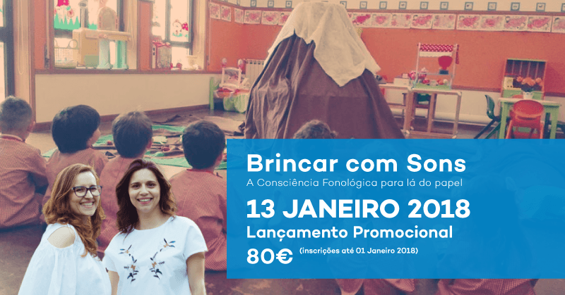 Workshop brincar com sons