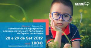 Comunicação e Linguagem em crianças e jovens com Perturbação do Espetro do Autismo