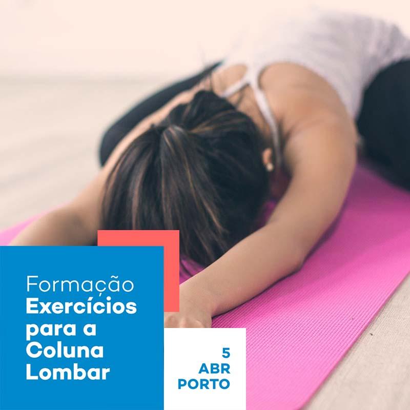 Formação Exercícios para a coluna Lombar